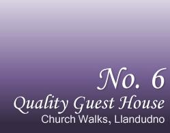 No 6 Quality Guest House Llandudno